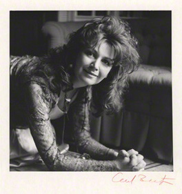 NPG x14169; Edna O'Brien by Cecil Beaton